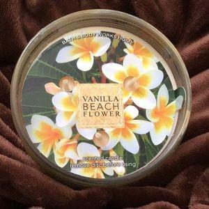 🏝 bbw vanilla beach flower in ribbed jar